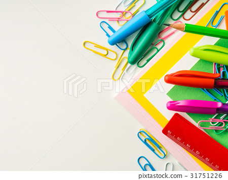 Stationery colorful school writing accessories 31751226