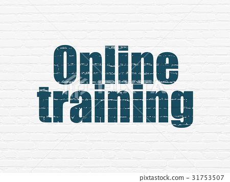 Studying concept: Online Training on wall 31753507