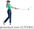 高尔夫 高尔夫球手 女人 31755801