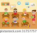 Lesson in elementary, primary school, kids and 31757757