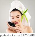woman, bath, towel 31758589