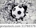 足球 球 插圖 31760376