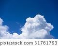 Thunderhead, blue sky, sky 31761793