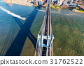 Manhattan Bridge over the East River in New York 31762522