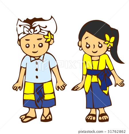 兒童巴厘島人 31762862