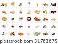 confectionery, vector, vectors 31763675