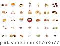 confectionery, vector, vectors 31763677