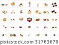 confectionery, vector, vectors 31763679