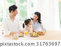 ครอบครัว,เพื่อนดี,อาหารเช้า 31763697