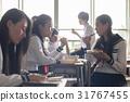 高中生 教室 午休 31767455