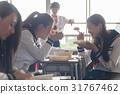 高中生 教室 吃 31767462