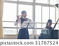 高中女生 长笛 俱乐部活动 31767524