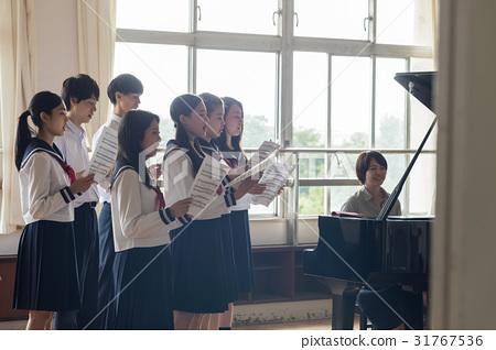 高中生 音樂 樂譜 31767536