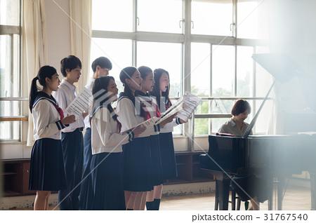 高中女生 俱樂部活動 豬骨湯 31767540