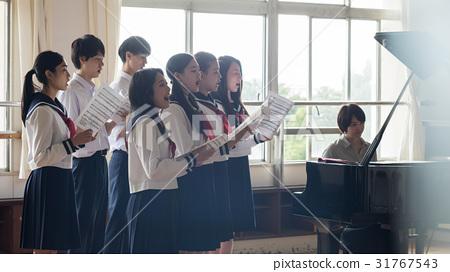 高中生 音樂 樂譜 31767543