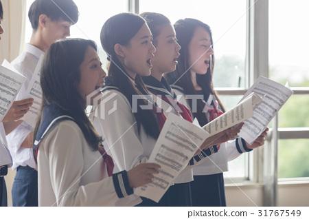 高中生 音樂 樂譜 31767549