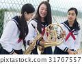 高中生 高中女生 練習 31767557