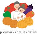 シニア 夫婦 野菜 31768149