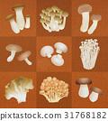 蘑菇 杏鮑菇 蟹味菇 31768182