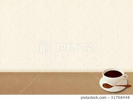 咖啡廳菜單背景__ 31768448