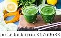 smoothie, green, detox 31769683
