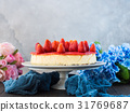 strawberry, berry, baked 31769687