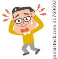 头疼 头痛 偏头痛 31769692