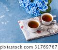 tea, cup, blue 31769767