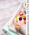 ice, cream, strawberry 31770130