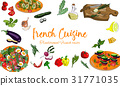 french, cuisine, vector 31771035