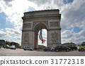 아크 드 Triomphe 파리, 프랑스 개선문, 파리 31772318
