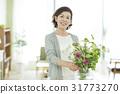 成熟的女人 一個年輕成年女性 女生 31773270