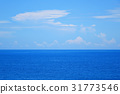 Background of sea and sky 31773546