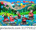 birthday, card, music 31775912