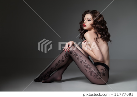 Topless female wearing tights 31777093