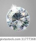 diamond, gem, reflection 31777368