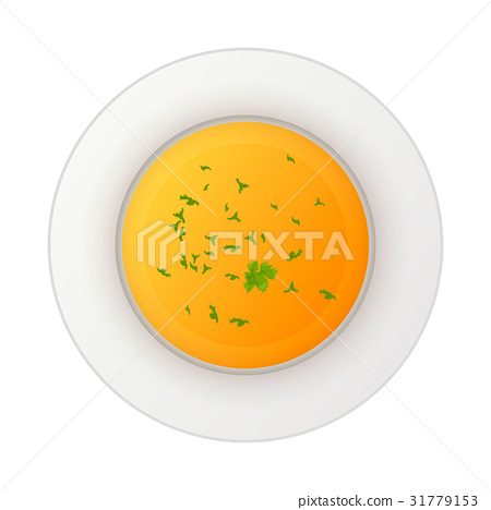 Colorful soup icon isolated on white 31779153