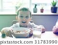 breakfast, emotion, expression 31783990
