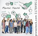 Mental health care sketch diagram 31784951