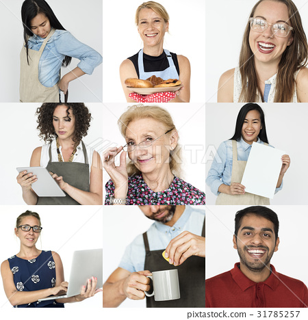 Collection of people startup small business 31785257