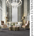 chandelier classic decor 31788426