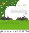 Forest vector illustration 31788736
