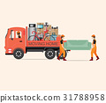 House Moving services transportation and logistic  31788958