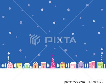 Townscape雪聖誕樹 31789077