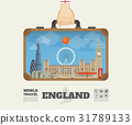 Hand carrying England Landmark Global Travel. 31789133