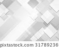 배경, 회색, 벡터 31789236