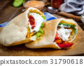 pita meat bread 31790618