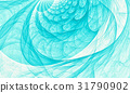 Abstract aqua marine wave background 31790902
