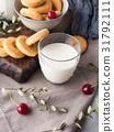 milk, cookie, still 31792111