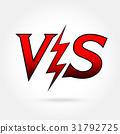 Versus Vector Icon 31792725